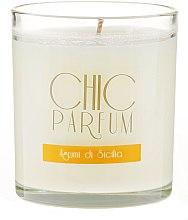 Kup Świeca zapachowa w szkle - Chic Parfum Agrumi di Sicilia Candle
