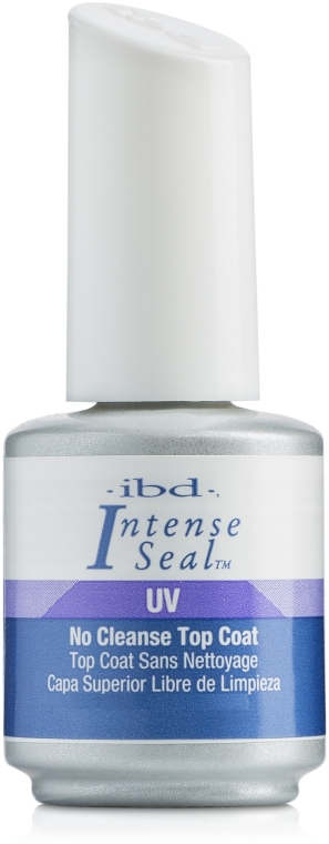 Nawierzchniowy do paznokci - IBD Intense Seal UV No Cleanse Top Coat — фото N1