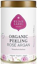 Kup Wygładzający peeling organiczny do ciała, Róża i Argan - Eliah Sahil Organic Peeling Rose Argan