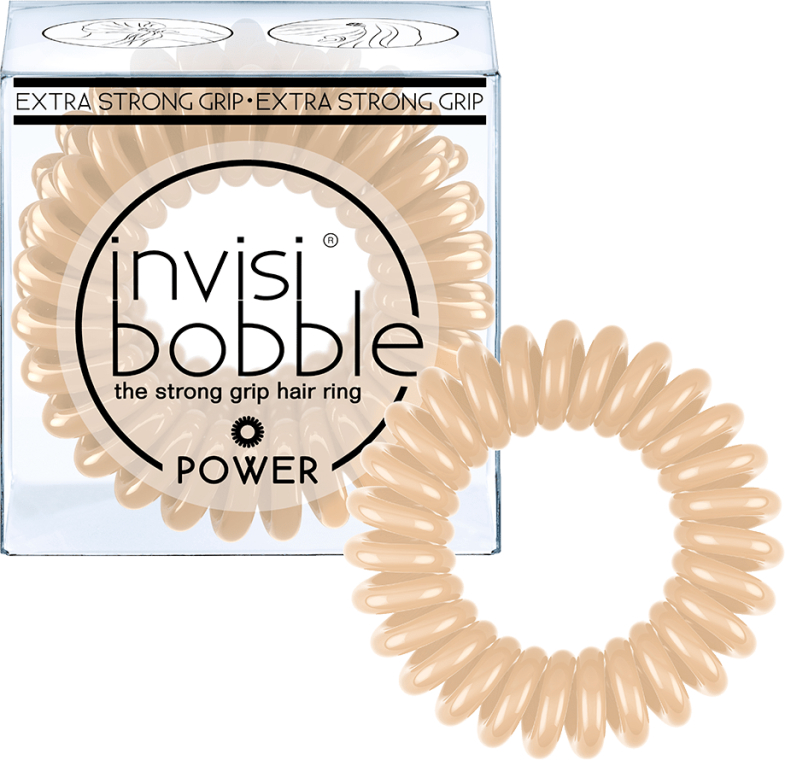 Gumka do włosów - Invisibobble Power To Be Or Nude To Be — фото N2