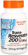 Kup Trans-resweratrol w kapsułkach - Doctor's Best Trans-Resveratrol 200 with Resvinol 200 mg
