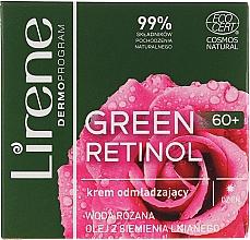 Kup Odmładzający krem do twarzy na dzień 60+ - Lirene Green Retinol Day Cream