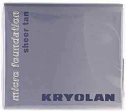 Kup Wodoodporny podkład w musie - Kryolan HD Micro Foundation Sheer Tan