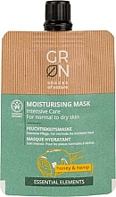 Kup Maseczka do twarzy - GRN Essential Elements Honey & Hemp Cream Mask