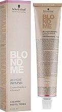 Kup Krem tonujący do blond włosów - Schwarzkopf Professional BlondMe Blonde Toning