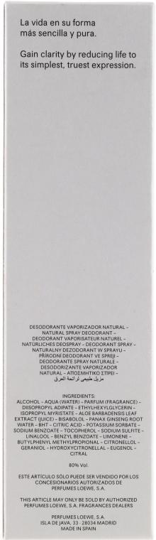 Dezodorant w sprayu dla mężczyzn - Loewe Loewe Pour Homme — фото N3