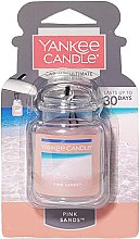 Kup Żelowy aromat do samochodu - Yankee Candle Car Jar Ultimate Pink Sands