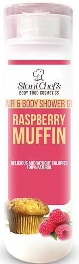 Naturalny żel pod prysznic do ciała i włosów Babeczka malinowa - Stani Chef's Hair & Body Shower Gel Raspberry Muffin — фото N1