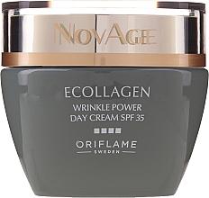 Kup Przeciwzmarszczkowy krem do twarzy na dzień SPF 35 - Oriflame NovAge Ecollagen Wrinkle Power