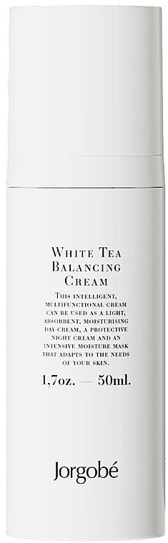 Krem równoważący z białą herbatą - Jorgobe White Tea Balancing Cream — фото N1