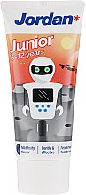 Kup Pasta do zębów dla dzieci 6-12 lat, robot - Jordan Junior Toothpaste