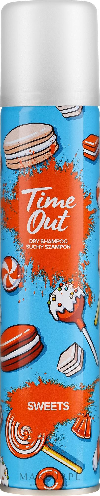 Suchy szampon do włosów Słodycze - Time Out Sweets — фото 200 ml