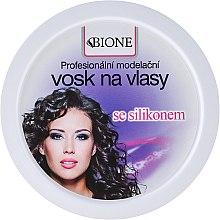 Kup Modelujący wosk do włosów z silikonem - Bione Cosmetics Professional Hair Wax Silicone