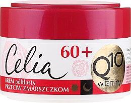 Kup Krem półtłusty przeciw zmarszczkom z koenzymem Q10 60+ - Celia