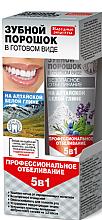 Kup PRZECENA! Proszek do zębów w gotowej formie na ałtajskiej glince białej 5 w 1 - Fitokosmetik Przepisy ludowe *