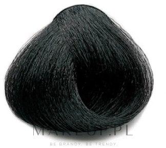 Profesjonalny krem koloryzujący do włosów - Dikson Professional Hair Colouring Cream — фото 1.0 - Black