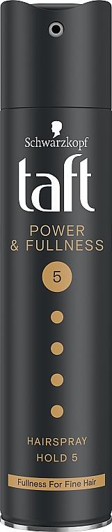 Lakier do włosów Megamocne utrwalenie i objętość - Schwarzkopf Taft Power & Fullness