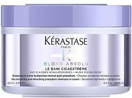 Kup Kremowy szampon do włosów blond - Blond Absolu Le Bain Cica Extreme Shampoo-in-Cream