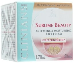 Kup Nawilżający krem przeciwzmarszczkowy do twarzy - Clinians Sublime Beauty Anti-Wrinkle Face Cream