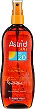 Kup Olejek w sprayu do opalania SPF 20 - Astrid Sun Suncare Spray Oil