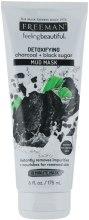 Kup Błotna maska z węglem aktywnym i czarnym cukrem - Freeman Feeling Beautiful Charcoal & Black Sugar Mud Mask