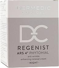 Kup Przeciwzmarszczkowy krem wspomagający odnowę skóry na noc 40+ - Dermedic Regenist ARS 4° Phytohial
