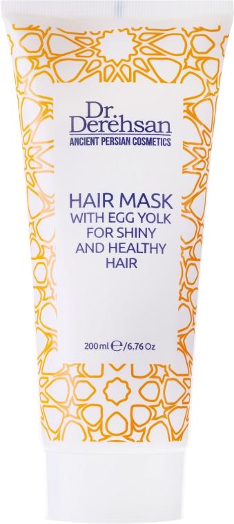 Nabłyszczająca maska do włosów z żółtkiem - Dr. Derehsan Hair Mask Egg Yolk — фото N1
