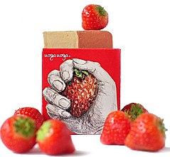 Kup Naturalne mydło z ekstraktem z truskawek - Uoga Uoga Strawberry! Soap