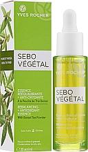 Kup PRZECENA! Esencja wygładzająca o działaniu antyoksydacyjnym - Yves Rocher Sebo Vegetal Rebalancing + Antioxidant Essence *