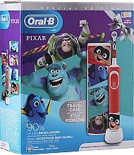 Kup Zestaw do higieny jamy ustnej dla dzieci - Oral-B Kids Pixar Special Edition (tooth/brush 1 pcs + case)