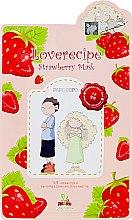 Kup Celulozowa maska na tkaninie do twarzy z wyciągiem z truskawek - Sally's Box Loverecipe Strawberry Mask