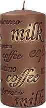 Kup Świeca zapachowa, 7 x 14 cm, brązowa - Artman Coffee