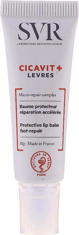 Ochronny balsam do ust - SVR Cicavit+ Protective Lip Balm Fast-Repair — фото N3