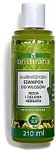 Kup Ajurwedyjski szampon do włosów z łupieżem Neem i zielona herbata - Orientana