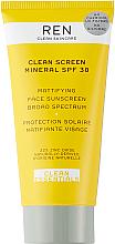 Kup Matujący krem przeciwsłoneczny - Ren Clean Screen Mattifying Face Sunscreen SPF 30