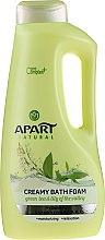 Kup Kremowy płyn do kąpieli Zielona herbata i konwalia - Apart Natural Body Care Bath Foam