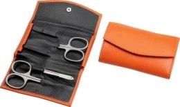 Kup Zestaw do manicure'u 5 przedmiotów, pomarańczowy, 3540-0955 - Hans Kniebes Solingen