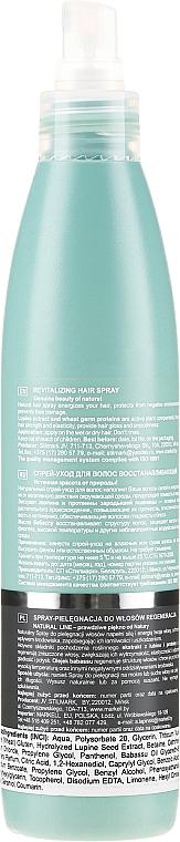Rewitalizujący spray do włosów - Markell Cosmetics Natural Line Revitalizing Hair Spray — фото N2