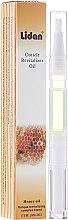 Kup Rewitalizująca oliwka do skórek z olejkiem miodowym - Lidan Curticle Revitalizer Honey Oil