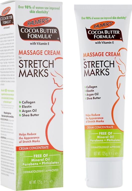 Nawilżający krem do masażu ciała na rozstępy - Palmer's Cocoa Butter Formula Massage Cream For Stretch Marks