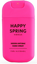 Kup Antybakteryjny spray do rąk Hibiskus - HiSkin Antibac Hand Spray Happy Spring