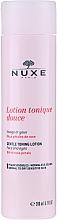 Kup Delikatny tonik z płatkami róży - Nuxe Gentle Toning Lotion With Rose Petals
