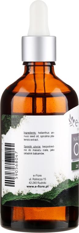 Naturalny olej ze spiruliny - E-Fiore — фото N4