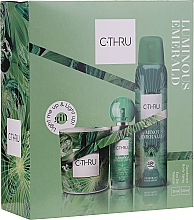 Kup C-Thru Luminous Emerald - Zestaw (deo 150 ml + edt 30 ml + candle 1 pcs)