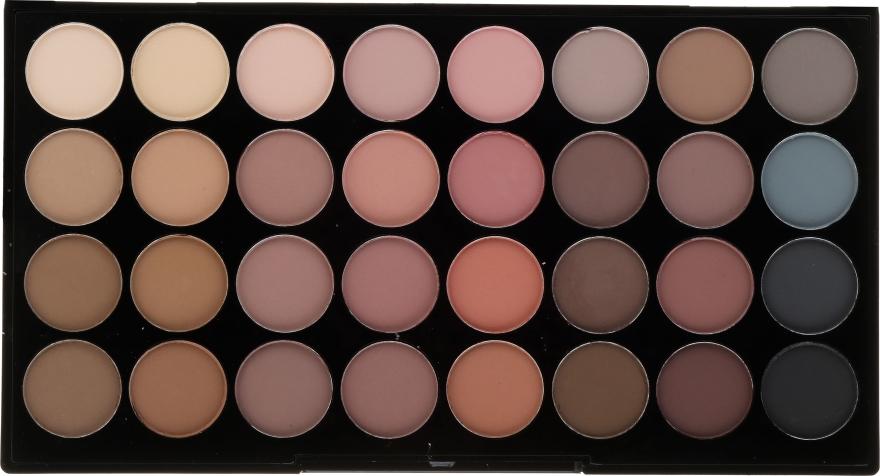 Paleta cieni do powiek - Makeup Revolution Flawless Matte Ultra Eyeshadows