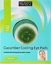 Kup Chłodzące plastry pod oczy - Beauty Formulas Cucumber Cooling Eye Pads