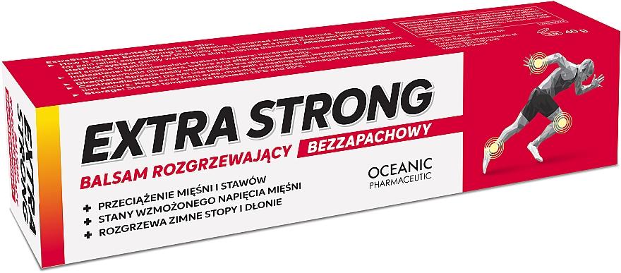 Bezzapachowy balsam rozgrzewający - Oceanic Extra Strong Balm — фото N1