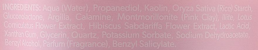 Detoksykująco-kojąca maseczka do twarzy z różową glinką - BodyBoom Face Boom Mask With Pink Clay — фото N3