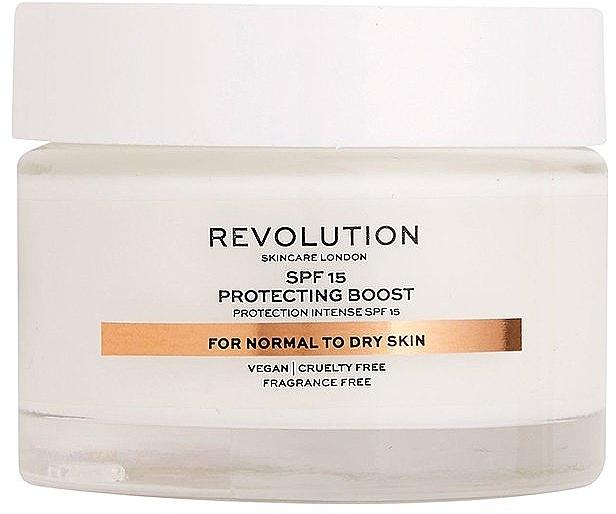 Krem do skóry suchej i normalnej - Revolution Skincare Moisturizing Cream SPF15 — фото N1