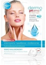 Kup Maska kompres intensywnie nawilżająca - Dermo Pharma Skin Repair Expert Skin Lightening Face Mask 4D